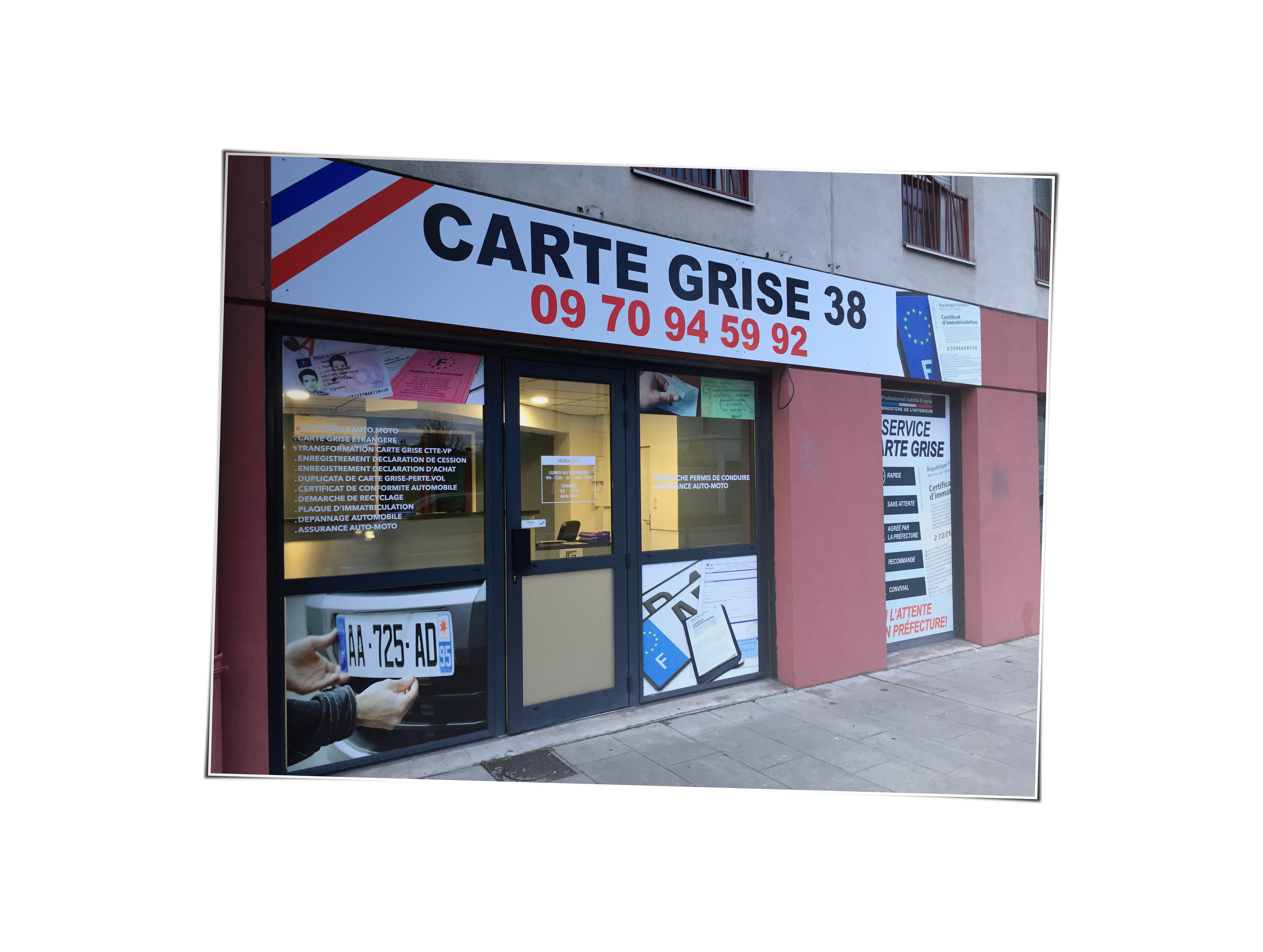 Bureau Pour Faire Carte Grise : Carte grise